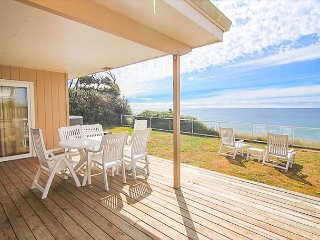 Classic Oceanfront Home with Hot Tub & Fully Fenced Yard for Pets