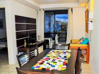 Onda-Mansa - Lindo apartamento de 2 quartos a 150m do mar - ate 6 pessoas