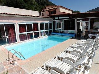 Villa Nina entre ciel, montagne et mer