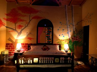 Seclude Arthouse, Uttarakhand (Bedroom 1)