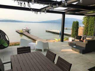 Check out our new Patio! Best waterfront in town!!