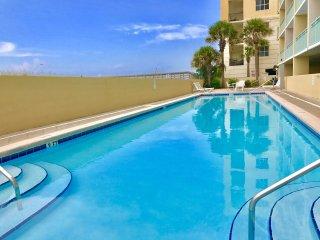 WOW! BEACHFRONT Pelican Isle Unit 113! 1 Bedroom/2 Full Baths!  Sleeps 6!