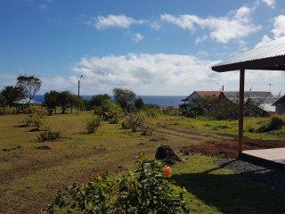 Cabañas Honuiti , capacidad hasta 5 personas. Vista al mar. Full equipada