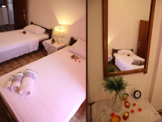 Asimina Apartments - Cosy Apartment, 4 beds, 2 spaces, 15' from the sea, No12