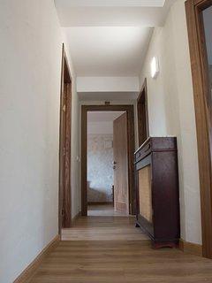 Pasillo de acceso a las habitaciones 2ªplanta