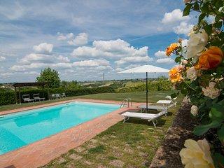 AgriturismoGiula with pool, apt. Girasoli