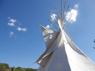 Rainbow Lodge 5m Tipi