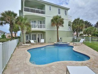 Bright and airy waterfront home w/ private pool, hot tub - close to beaches