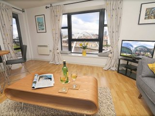 Baltic Quay Apartment, Fantastic Views of Newcastle Quayside, Baltic and Sage