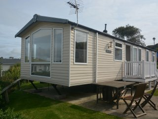 Ocean View - luxury caravan with view over Chesil Beach
