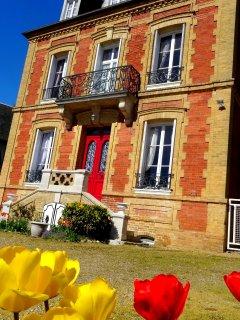 L'Ajoussienne. Maison de maitre - Haute-Normandie