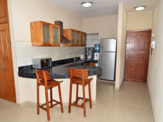 Apartment with 2 bedrooms and 2 bathrooms, close to the beach
