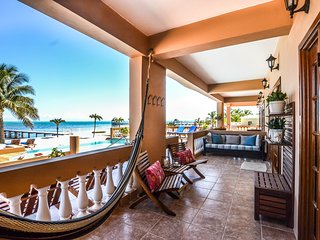 3 pools just steps from your patio! Beautiful ground floor oceanfront condo.