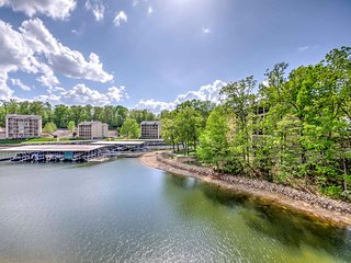 NEW! Waterfront 1BR Lake Ozark Condo w/Lake Views!