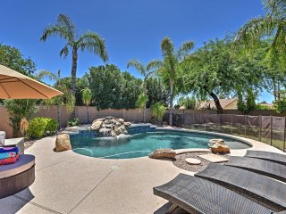 4BR Phoenix House w/Private Heated Saltwater Pool!