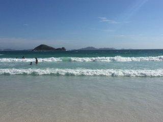 Praia de Figueira (atrás da casa)
