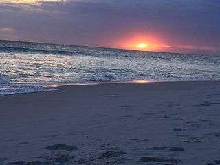 Praia de Figueira - pôr do sol