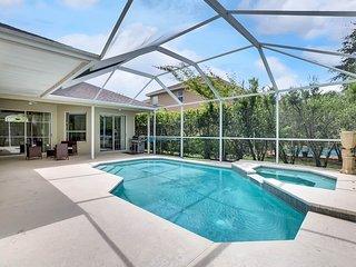 Gated Luxury Private Heated Pool & Spa Home in Beach Club