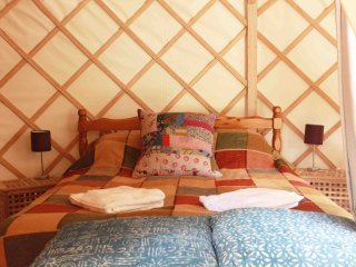 The Garlic Farm Lower Yurt