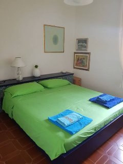 main bedroom with air conditioning