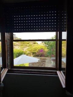main bedroom window view