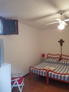 one of the two bedroom downstairs