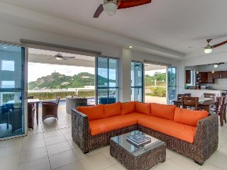 Two modern homes w/ two private pools & ocean views - 1/2 mile to beach!