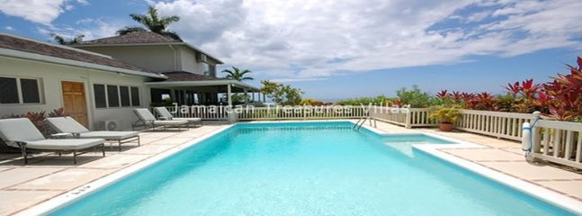 Pool! Staff! Views of Montego Bay! Blue Heaven