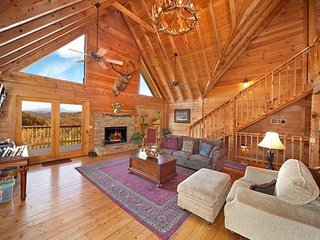 Main Floor Living Room at Big Bear Lodge