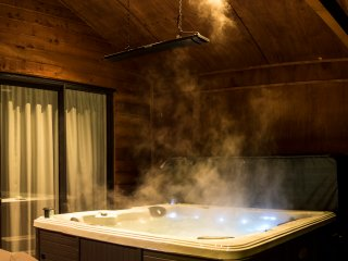 Your private hot tub.