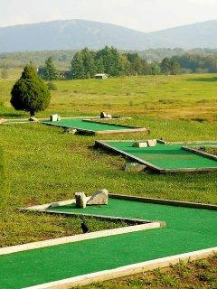 On-site mini-golf