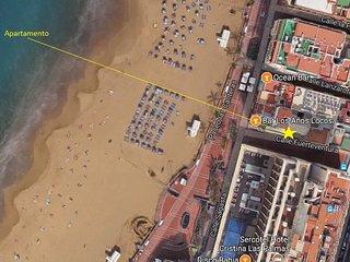 En la misma playa de Las Canteras  Wifi