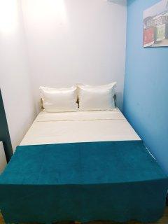 Bedroom 1, down floor, sleeps 2