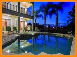 Reunion Resort 367 - Luxury villa with private pool and game room near Disney