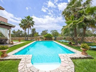 Rustic villa with large pool and 15,000m2 of land. 6 Bedrooms 12 persons. Wifi.