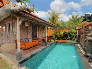 Ubud private pool villa with breakfast