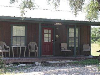 The Hondo Cabin (sleeps 7-9)