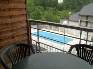 STUDIO 4PERS +BALCON VUE MONTAGNE+PARKING+WIFI