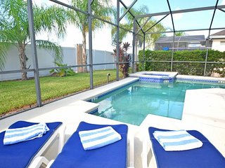 1020OD. 4 Bedroom 3 Bath Pool Home In DAVENPORT FL.