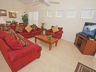 855TH. 4 Bedroom Pool Home in DAVENPORT FL.