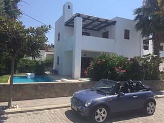 Beautiful 3 bedrooms house with swimming pool in heart of Lardos village