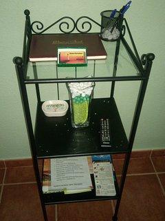 Recepcion ,libro de visitas -comentarios.informacion general, tours,restaurantes,.....