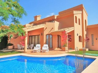 4 Bedroom villa with private pool and huge games room, La Manga Club