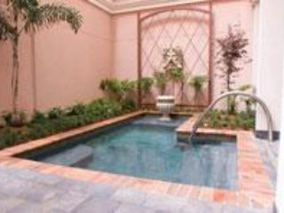 Luxe Warehouse District 2BR w/ Resort Outdoor Saltwater Spa & Indoor Hot Tub