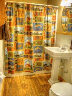 2nd Full Bathroom on Lower Level