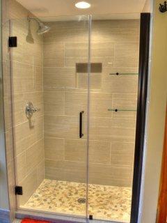 Luxurious Master bathroom shower