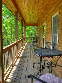 Upper Covered Deck