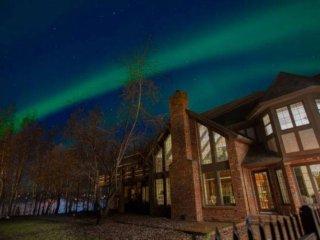 'Huffman Manor' Tudor Mansion in the Heart of Alaska