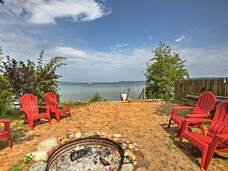 NEW! Suttons Bay Studio Apt. w/ Shared Beach!