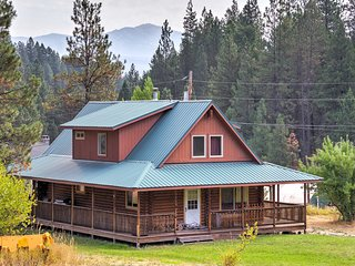 NEW! 5BR Garden Valley Cabin w/Heated Pool Access!